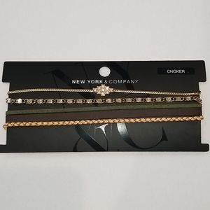 NEW YORK & COMPANY Choker Set